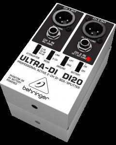 DIbox DI-20 bilancia segnale DI20 di-box Behringer Stereofonica 2 canali dual