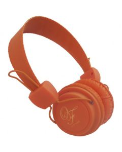cuffia headset arancione ORIGINAL FAKE 002 ORANGE ideale per l'utilizzo con tele
