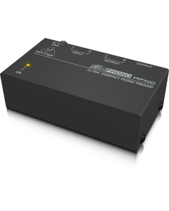 preamplificatore da phono a line PP400 behringer to amp