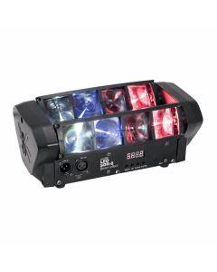 SDR 8 effetto luce a fasci RGBW LED Eurolite DMX
