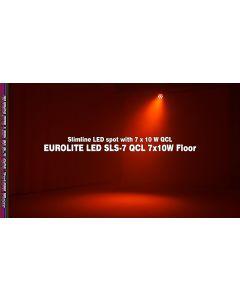 SLS-7 spot Eurolite led RGBW 7x10w dmx