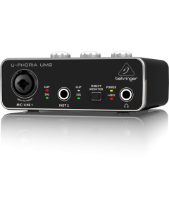 UM2 U-Foria Behringer interface USB UM 2 audio preamplificatore Xenyx