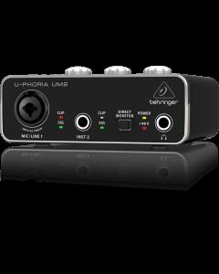 UM2 U-Foria Behringer interface USB UM 2 audio preamplificatore Xenyx