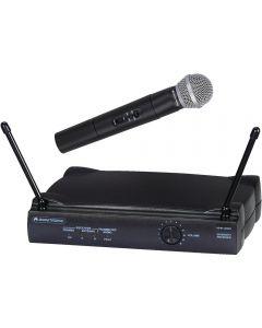 VHF250 Set Omnitronic VHF-250 radiomicrofono a gelato + ricevente radio microfon