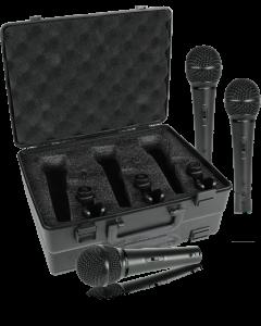 set 3 microfoni professionali XM1800s Behringer Nuovi